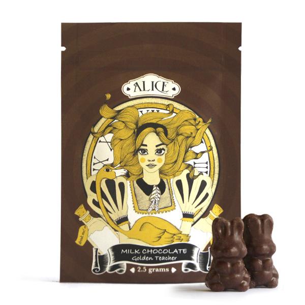 Alice Mushroom Milk Chocolate