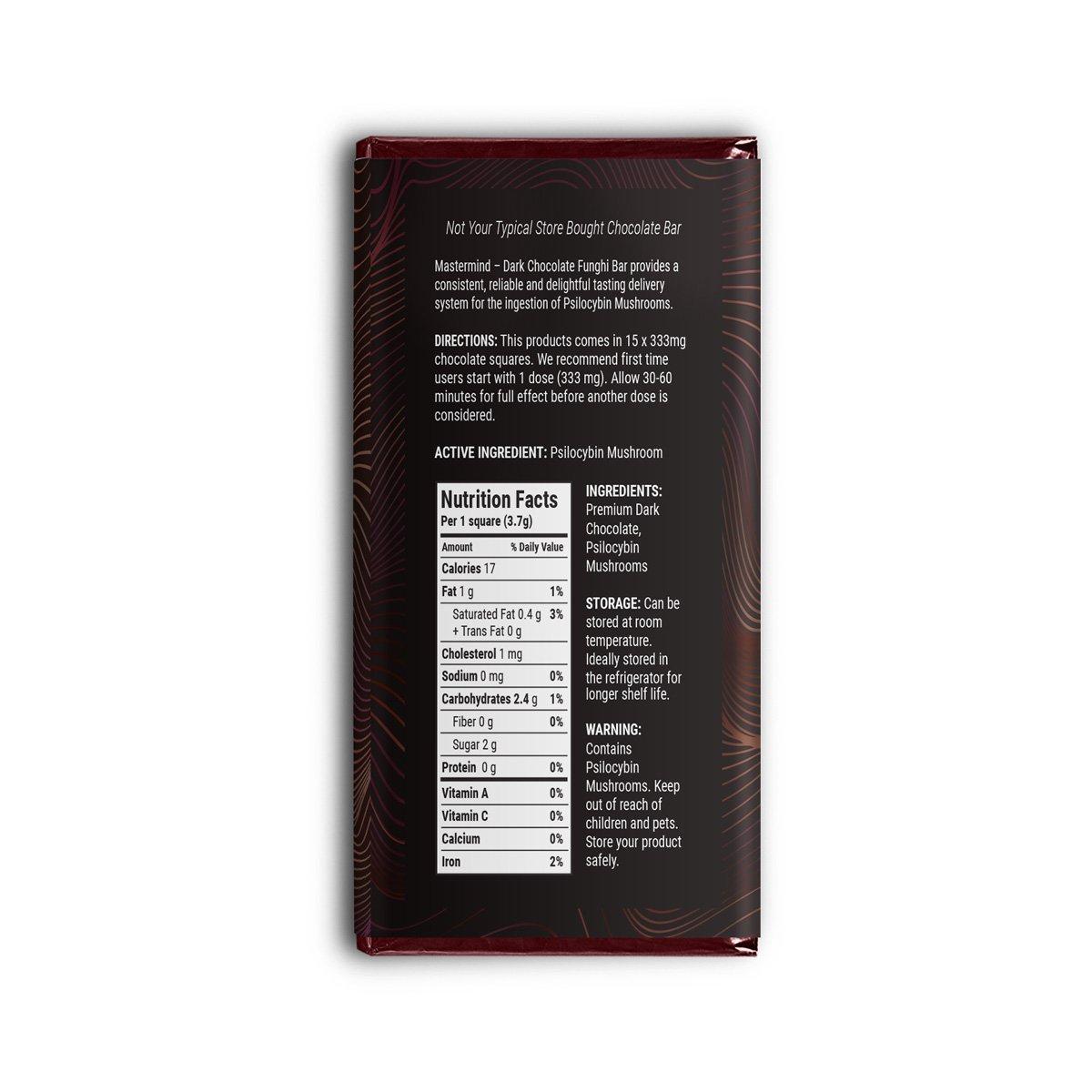 Buy MasterMind Dark Chocolate Massimo (5000mg) online