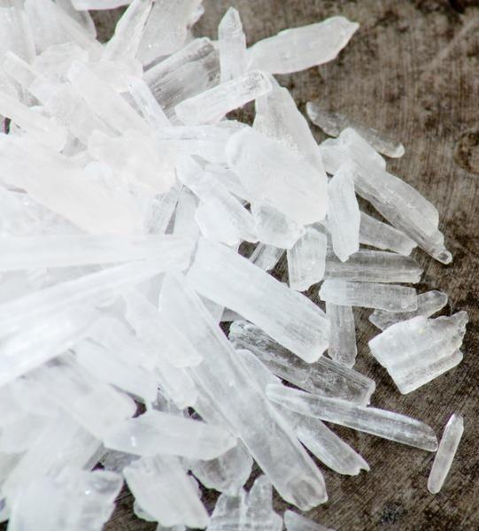Methamphetamine crystal