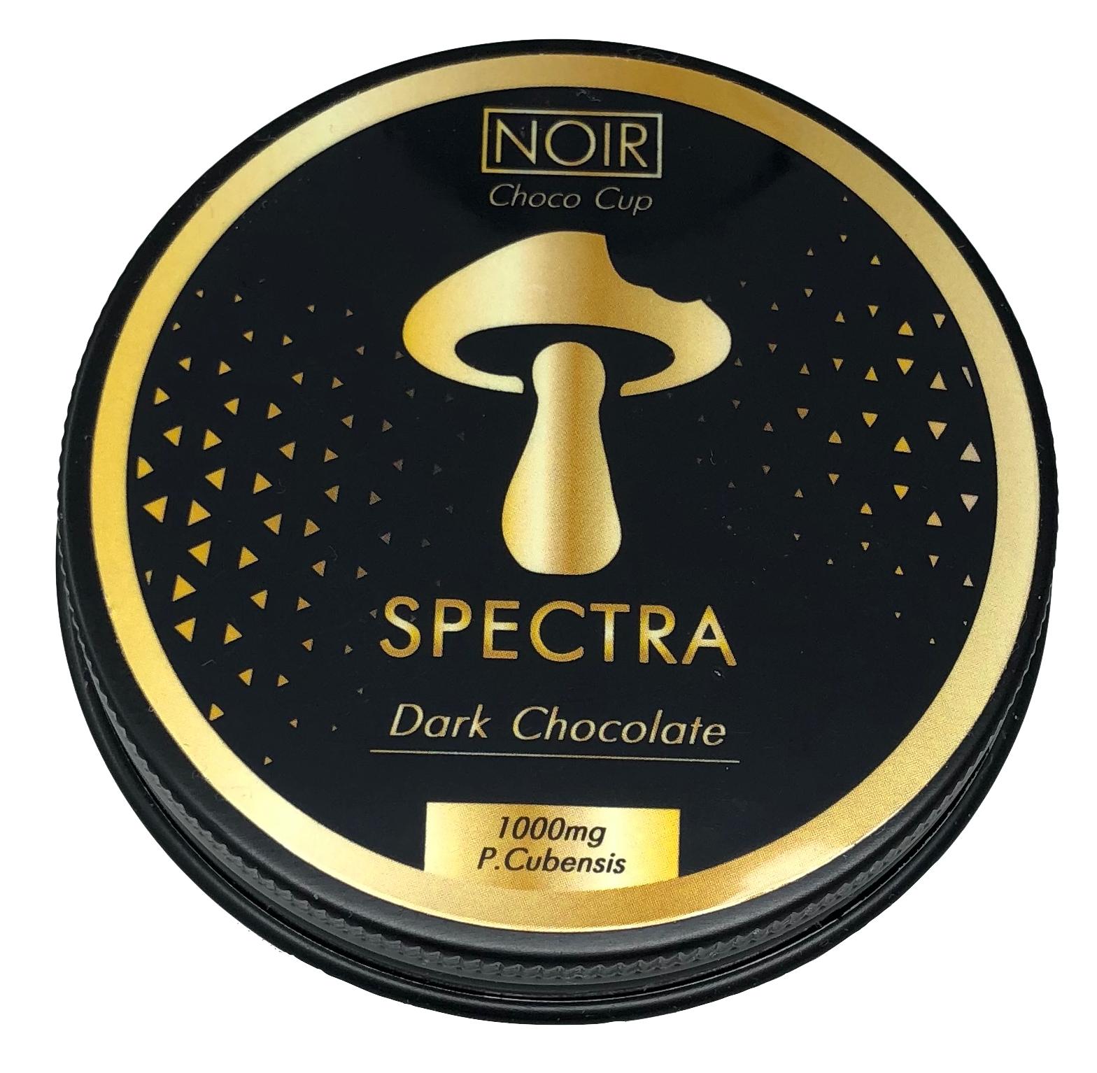Spectra Noir Chocolate Cups