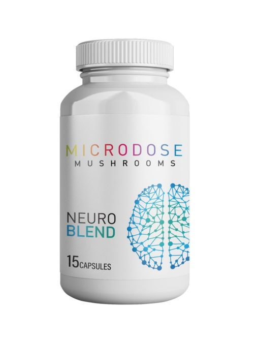 Microdose Mushrooms Neuro Blend